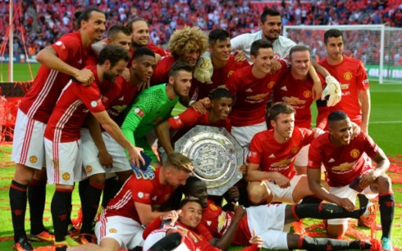Titel Community Shield Jadi Penyemangat Man United di Musim 2016-2017